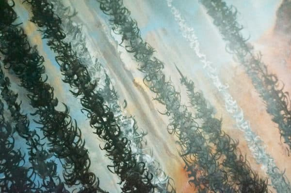 Original Painting Afterburn 3