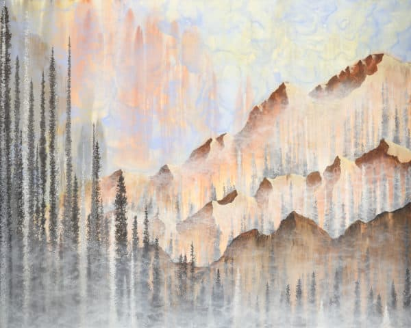 Original Painting Afterburn 6