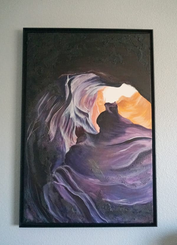 Original Painting Antelope Canyon Two 21