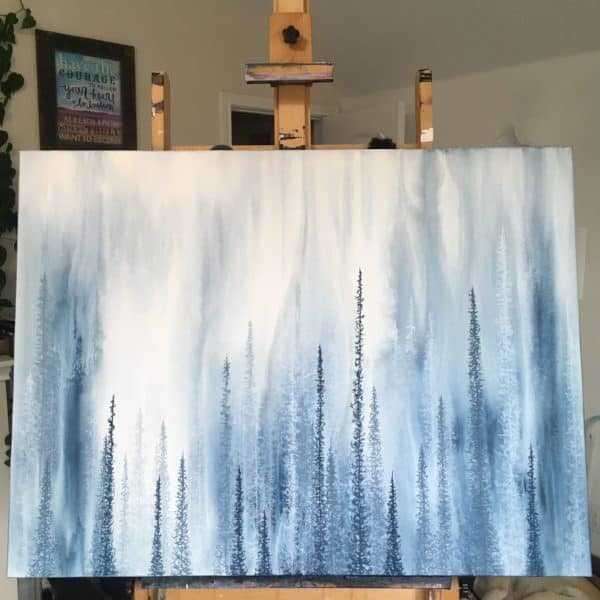 Original Painting Deep 5 1