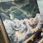 Original Painting Nebula Fourteen 12