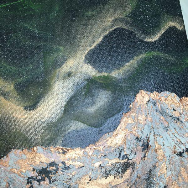 Original Painting Nebula Fourteen 3