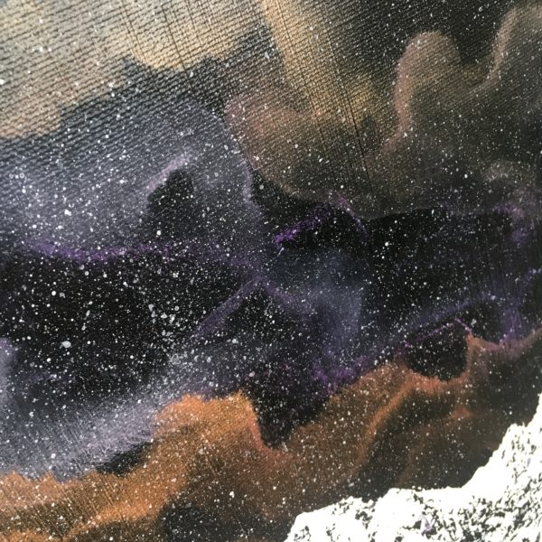 Original Painting Nebula Thirteen 6