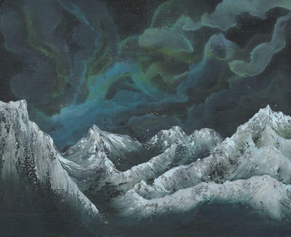 Original Painting Nebula Twelve 12 1