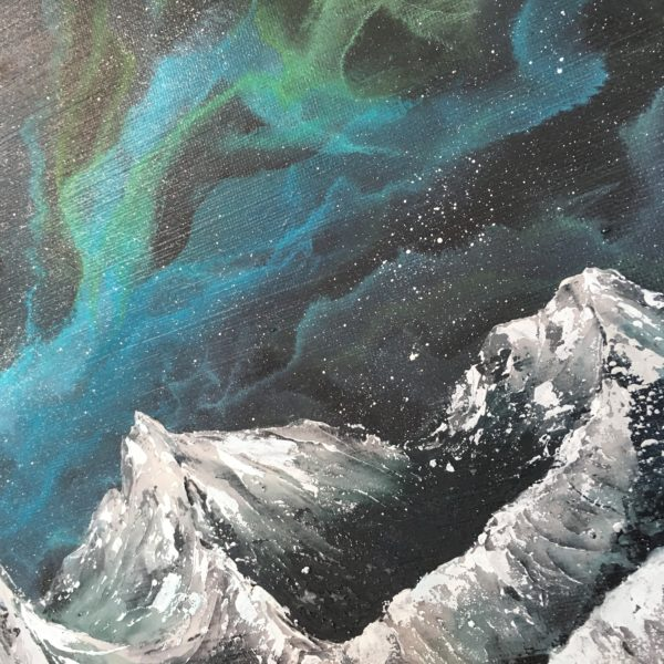 Original Painting Nebula Twelve 15