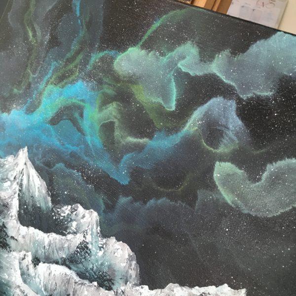 Original Painting Nebula Twelve 3 1