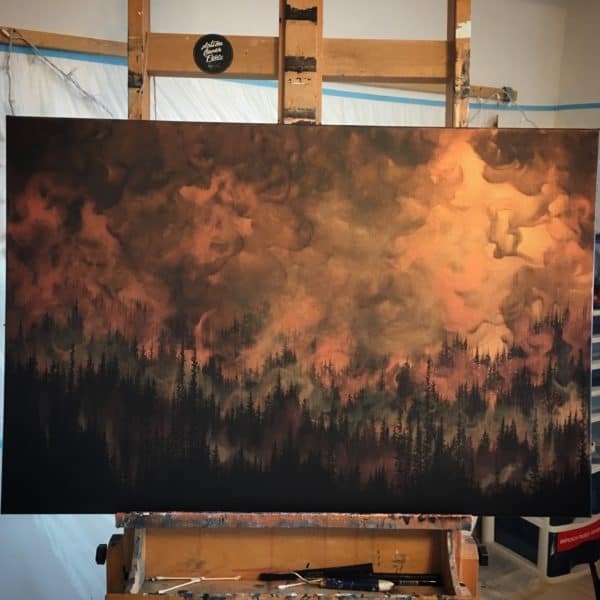 Original Painting Rebirth 5 1