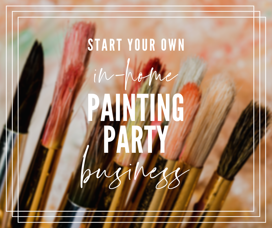 how to start a painting party business