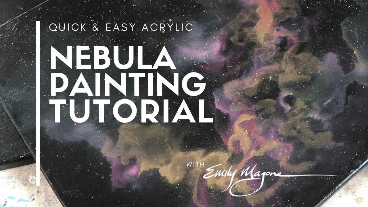 Pink Nebula Painting Tutorial