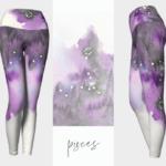 Pisces Zodiac Leggings