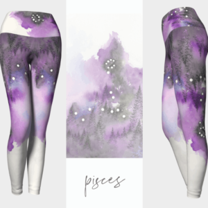 Pisces Zodiac Leggings