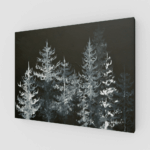 Prints Black Trees Print 6