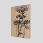 Prints Blue Mushrooms Print 9