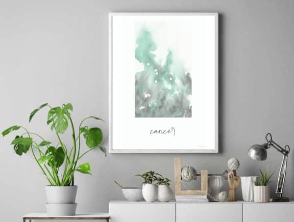 Prints Cancer Printable Art Print 10