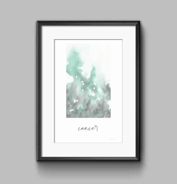 Prints Cancer Printable Art Print 7