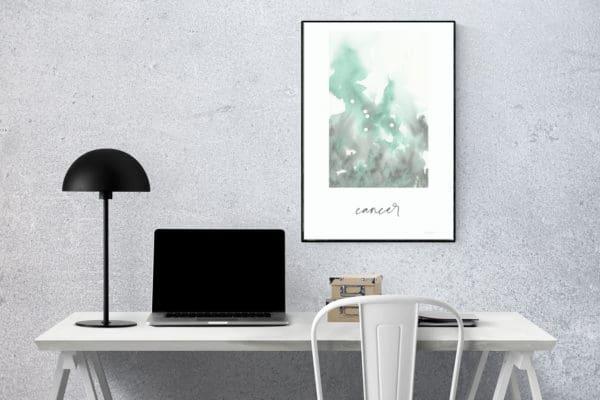 Prints Cancer Printable Art Print 9 1