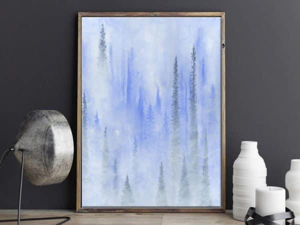 Prints Dream Wood Print 6 1
