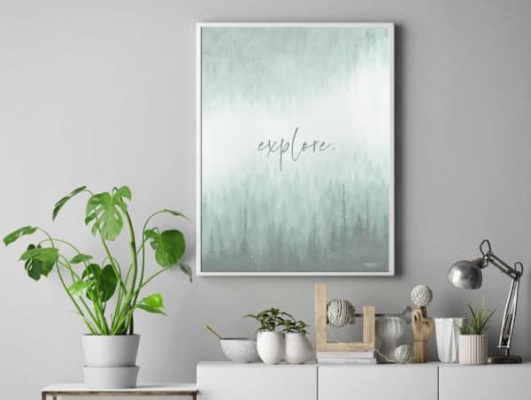 Prints Explore Printable Word Art Print 10