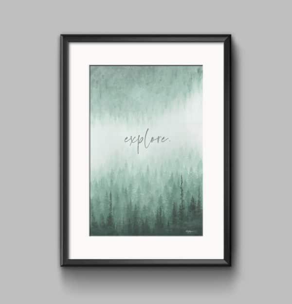 Prints Explore Printable Word Art Print 8 1