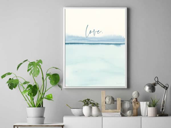 Prints Love Modern Printable Word Art 10 1