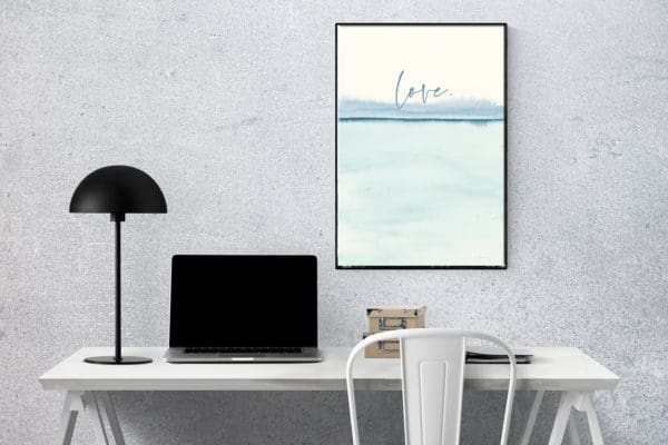 Prints Love Modern Printable Word Art 9 1