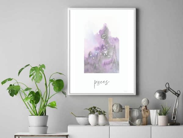 Prints Pisces Printable Art Print 11 1