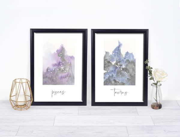 Prints Pisces Printable Art Print 7