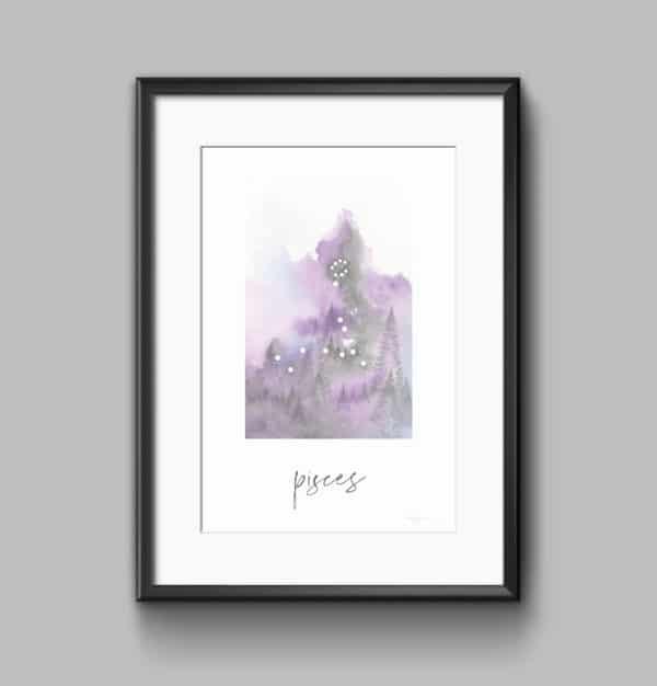 Prints Pisces Printable Art Print 8 1