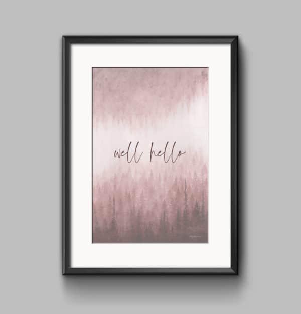 Prints Well Hello Printable Word Art Print 13 1