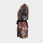 Robe Peeling Bark Kimono Robe 4 1