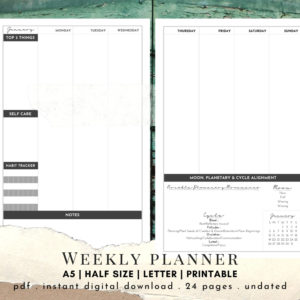 Weekly Planner Cover Photo